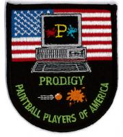 Embroidered Emblem-Paintball