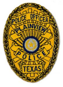 Embroidered Emblem-Police